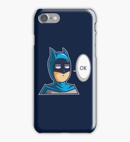 One Punch Vigilante iPhone Case/Skin