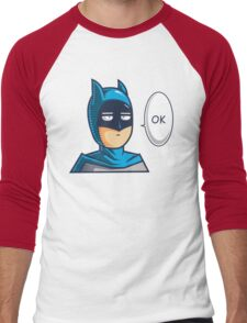 One Punch Vigilante Men's Baseball ¾ T-Shirt