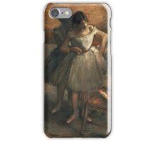 Edgar Degas - Dancers 3 iPhone Case/Skin