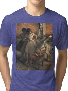 Edgar Degas - Dancers 3 Tri-blend T-Shirt