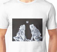 TWO FROGS,ONE FLY Unisex T-Shirt