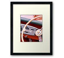Varnish And Wood Framed Print