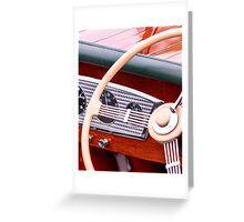Varnish And Wood Greeting Card
