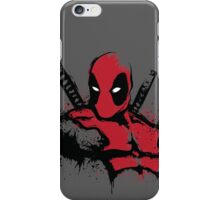 The Merc in Red iPhone Case/Skin