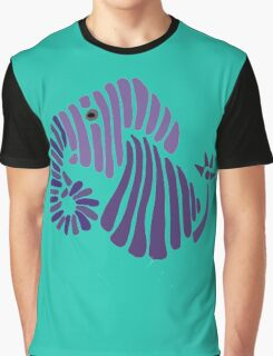 Cool Funny Funky Elephant Abstract Art derty  Graphic T-Shirt