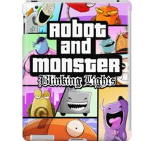 Robot and Monster: GTA iPad Case/Skin