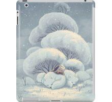 Arctic Fox Huddle iPad Case/Skin