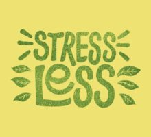 Stress Less Kids Tee