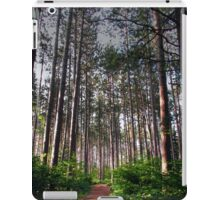 Black Forest Pines iPad Case/Skin