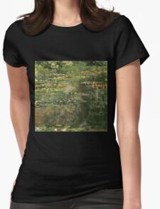Claude Monet - Water Lilies 4 Womens Fitted T-Shirt