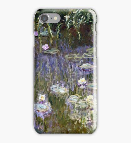 Claude Monet - Water Lilies (1922)  iPhone Case/Skin