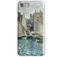 Claude Monet - View Of Le Havre  iPhone Case/Skin