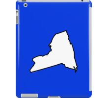 New York State Outline iPad Case/Skin