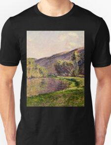Claude Monet - Jeufosse, The Effect in the Late Afternoon (1884)  Unisex T-Shirt