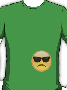 sad sunglasses emoji T-Shirt