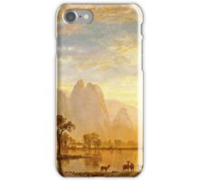 Albert Bierstadt - Valley Of The Yosemite iPhone Case/Skin