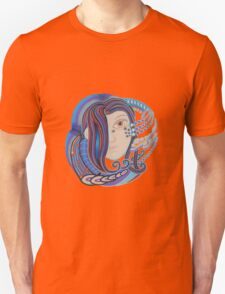 DMT space angel Unisex T-Shirt