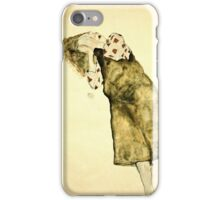 Egon Schiele -Sleeping Girl  iPhone Case/Skin