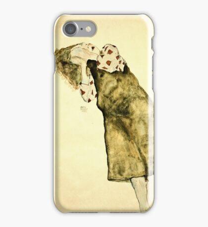 Egon Schiele -Sleeping Girl  iPhone Case/Skin