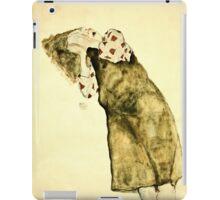Egon Schiele -Sleeping Girl  iPad Case/Skin