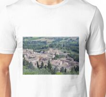 Aerial view of Assisi Unisex T-Shirt