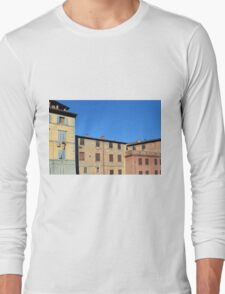 Buildings from Siena Long Sleeve T-Shirt