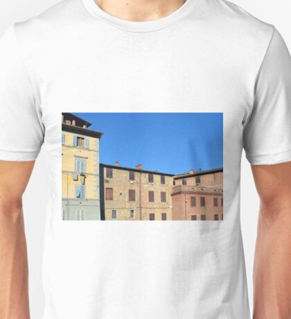 Buildings from Siena Unisex T-Shirt