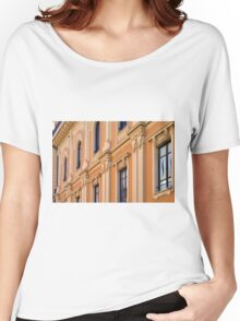 Classical building facade with decorative elements Women's Relaxed Fit T-Shirt
