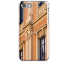 Classical building facade with decorative elements iPhone Case/Skin