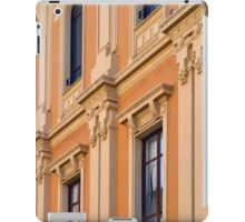Classical building facade with decorative elements iPad Case/Skin