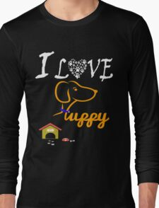 Funny Dog T-Shirt Long Sleeve T-Shirt