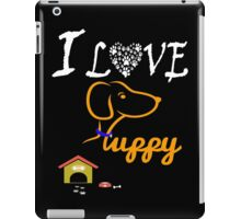 Funny Dog T-Shirt iPad Case/Skin