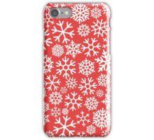 Snowflakes Pattern iPhone Case/Skin