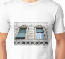 Two classical windows with decoration Unisex T-Shirt