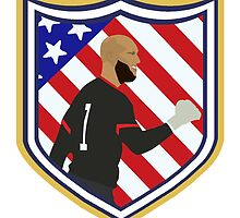 Tim Howard Crest by B B