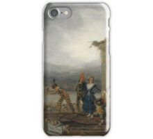Goya - Comicos Ambulantes iPhone Case/Skin