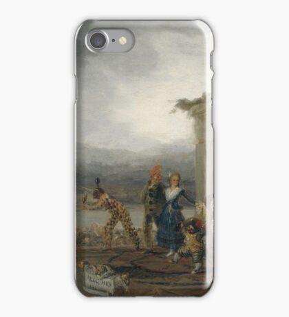 Goya - Comicos Ambulantes iPhone Case/Skin
