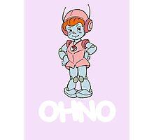 Mighty Orbts - OHNO - White Font Photographic Print