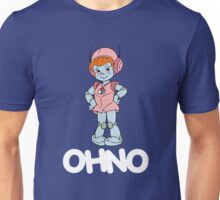 Mighty Orbts - OHNO - White Font Unisex T-Shirt