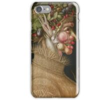 Giuseppe Arcimboldo - The Summer - From The Four Seasons 1563 iPhone Case/Skin