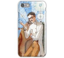 Nikola Tesla - The Magician iPhone Case/Skin