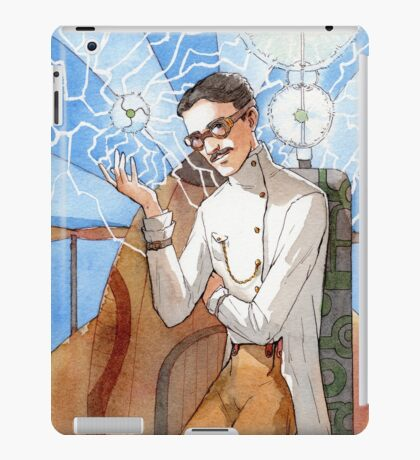 Nikola Tesla - The Magician iPad Case/Skin