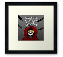 Nevernight Mia Framed Print