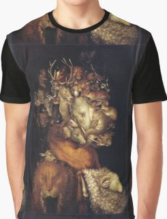 Giuseppe Arcimboldo - The Earth - From Four Elements 1566  Graphic T-Shirt