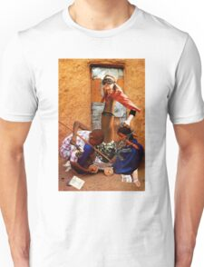 Spending Time with the Children of the White Foot Clan Unisex T-Shirt