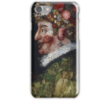 Giuseppe Arcimboldo - Spring - La Primavera 1563 iPhone Case/Skin