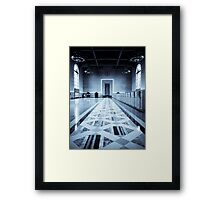 Old Ticketing Hall - Union Station - Los Angeles Framed Print