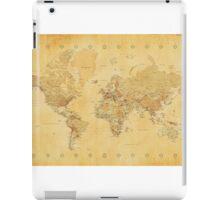 Yellow Mapping World iPad Case/Skin