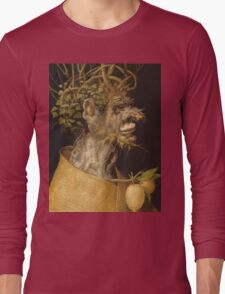 Giuseppe Archimboldo - The Winter 1563 Long Sleeve T-Shirt