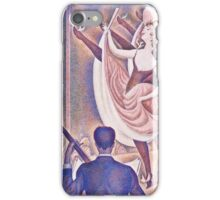 Georges Seurat -  Le Chahut (1889 - 1890)  iPhone Case/Skin